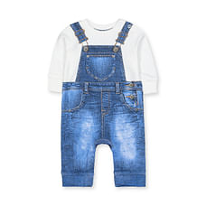 Denim Dungarees Tromp D'Oleil All In One