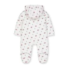 Floral Baby-Cord Pramsuit