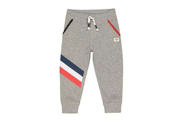 Boys Stripe Joggers - Grey