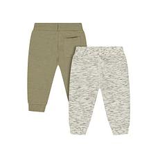 Boys Jogger - Pack Of 2 - Grey Khaki