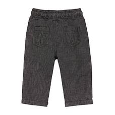 Boys Trousers Corduroy With Elasticated Waistband - Grey