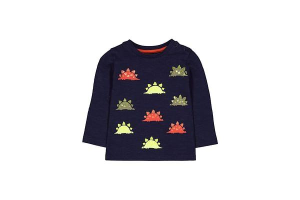 Navy Sequin Dinosaur T-Shirt