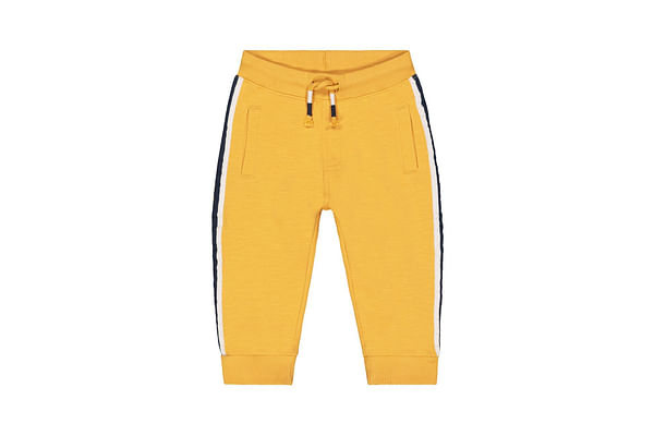 Boys Joggers Contrast Taping - Yellow