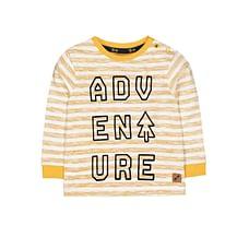 Mustard Stripe Adventure T-Shirt