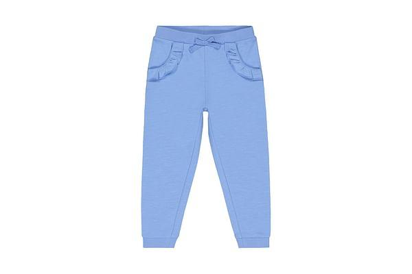 Girls Jogger Frill Pocket - Blue
