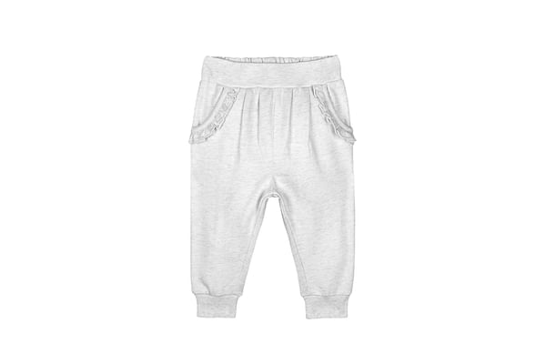 Oatmeal Frilly Joggers