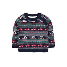Cars Fairisle Knit Jumper