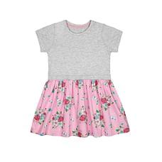 Floral Twofer Dress