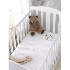 Mothercare Cotton Cot Or Cot Bed Flat Sheets