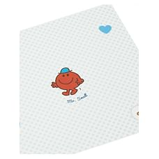 mr men new baby card