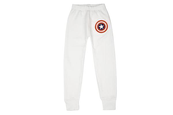 Boys Thermal Pant - White