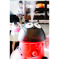 Crane Ladybug Cool Mist Humidifier Red