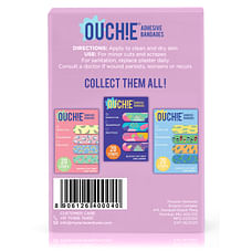 Ouchie Non-Toxic Printed Bandages Lavender