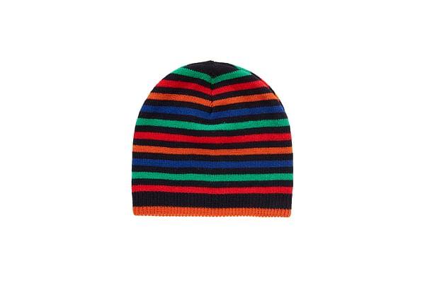 Boys Beanie Striped - Multicolor