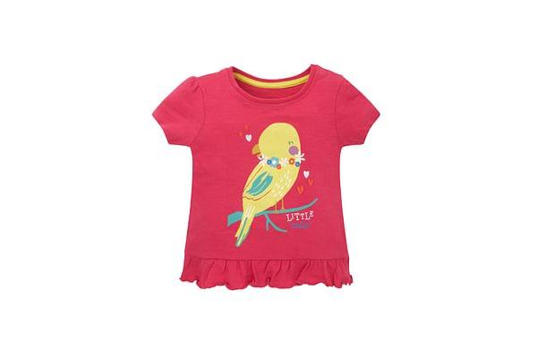 Girls Statement T-Shirt - Pink