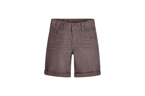 Boys Denim Shorts - Grey
