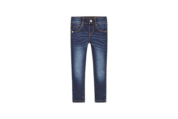 Girls Dark Wash Skinny Jeans - Denim
