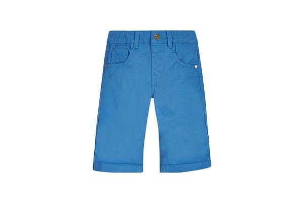 Boys Twill Shorts - Blue