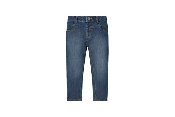 Boys Mid Wash Jeans - Denim