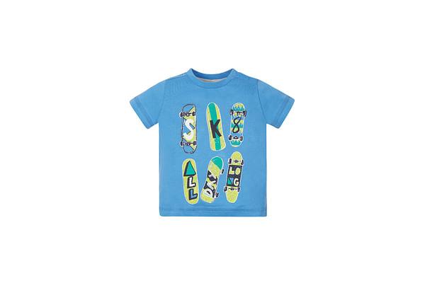 Boys Skate T-Shirt - Blue