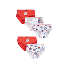 Girls Disney Minnie Mouse Briefs - 5 Pack - Blue