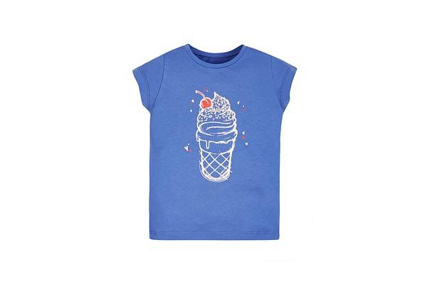 Girls Ice Cream T-Shirt - Blue