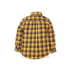 Boys Check Shirt And Motorbike T-Shirt Set - Multicolor