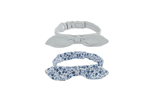 Girls Hairbands - 2 Pack - Blue