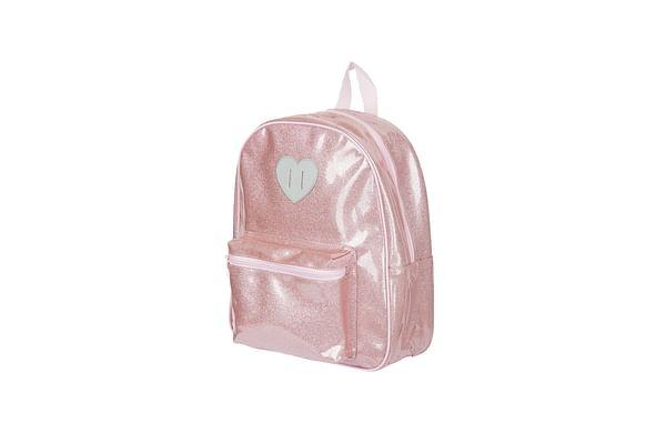 Girls Back To Nursery Sparkle Backpack - Pink
