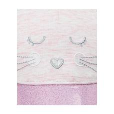 Girls Mouse Glitter Cap - Pink