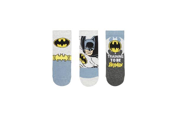 Boys Batman Socks - 3 Pack - Multicolor