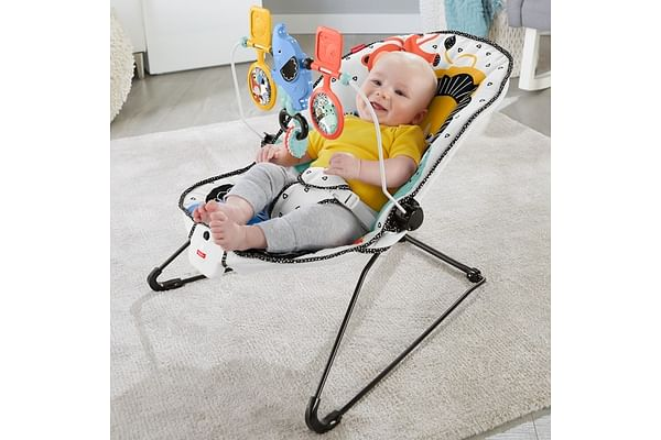 Fisher Price Carnival Curve Baby Bouncer