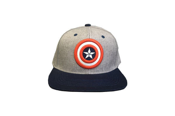 Kidsville Boys Cap Avengers-Grey