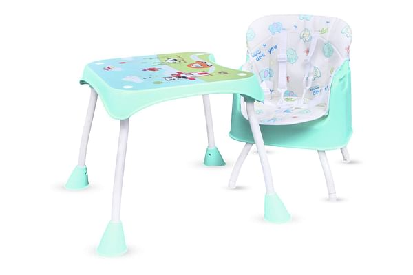R For Rabbit Cherry Berry Grand Baby High Chairs Green