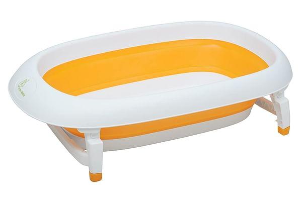 R For Rabbit Bubble Double Elite Baby Bath Tub Orange