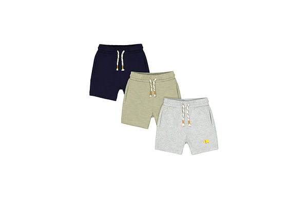 Boys Shorts Dino Print - Pack Of 3 - Multicolor