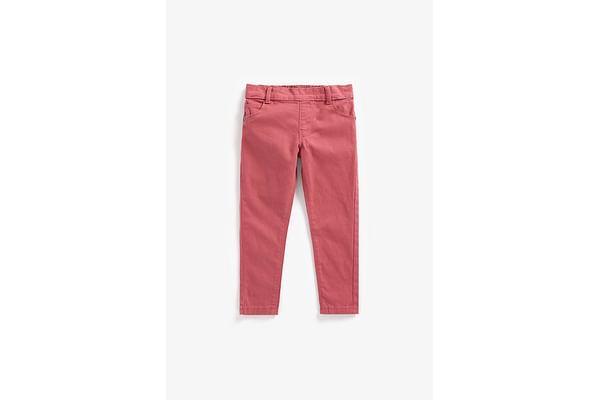 Girls Jeggings  - Pink