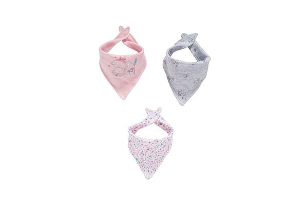Little Mouse Bandana Bibs - 3 Pack