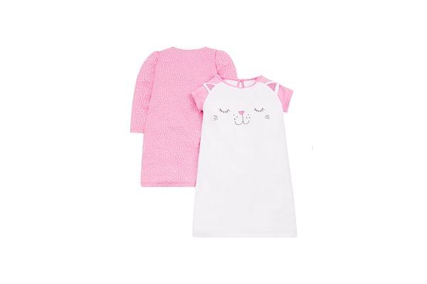 Cat And Spot Nighties - 2 Pack