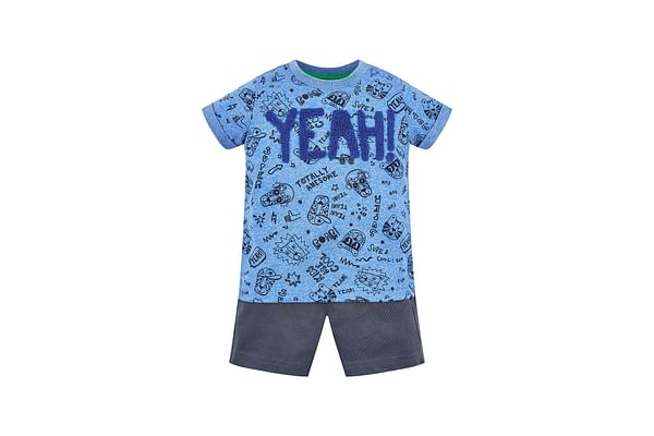 Yeah T-Shirt And Shorts Set