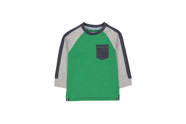 Green Raglan Sleeve T-Shirt