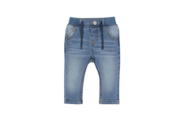 Boys Jogger Washed With Ribwaist - Blue