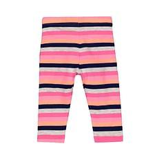 Girls Legging Stripe With Elasticated Waistband - Pink