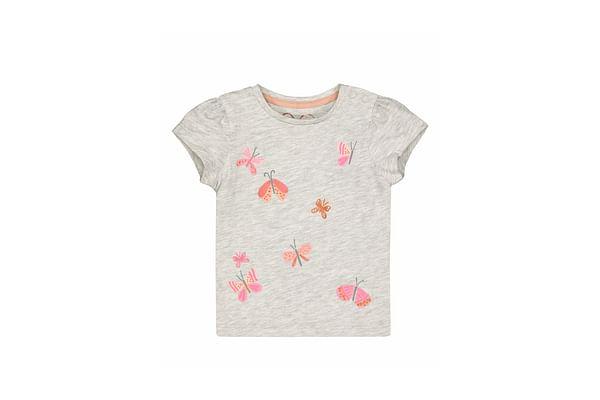 Grey Butterfly T-Shirt