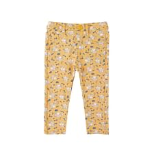 Mustard Floral Trousers