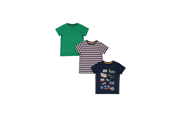 Truck Stop Badge T-Shirts - 3 Pack