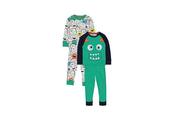 Monster Pyjamas - 2 Pack