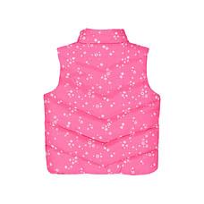 Pink Floral Gilet