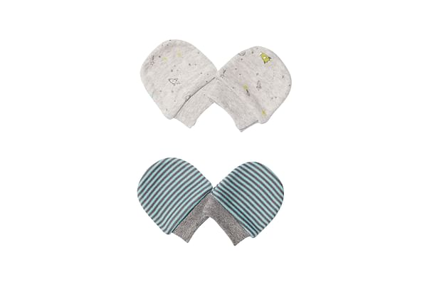 Space Stripe Mitts - 2 Pack