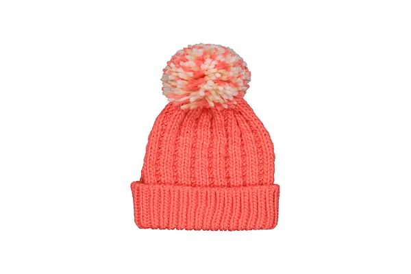 Coral Knit Beanie Hat